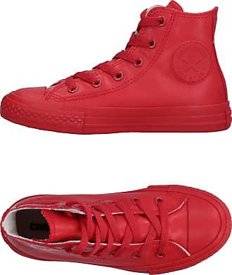 Converse 150151C, Basses Femme - Rouge - Rouge/Blanc, 44 EU