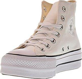 Converse Chuck Taylor CTAS Hi Canvas, Chaussures de Fitness Mixte Adulte, Blanc (White/Silver/White 102), 39 EU