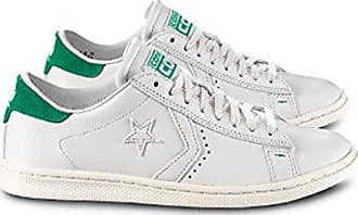 Converse Pro Leather LP Ox, Sneakers Homme, Blanc (White Dust/b.Green), 43 EU