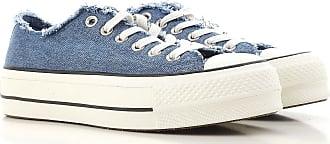 Sneaker für Damen, Tennisschuh, Turnschuh Günstig im Sale, Pink, Jeansfarben, 2017, 36 38 Converse