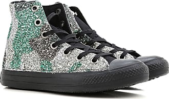 Sneakers for Women On Sale, Limited Edition, Grey, Canvas, 2017, US 6 (EU 37) Converse