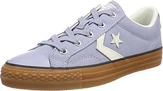 Unisex Kids Lifestyle Star Player Ox Canvas Fitness Shoes, Blue (Navy/Egret/Honey 426), 3.5 UK Converse