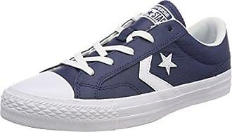 Converse Lifestyle Star Player Ox Suede, Zapatillas de Deporte Unisex Adulto, Marrón (Vintage Khaki/Black/White 270), 45 EU