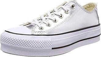 Converse Chuck Taylor Ct As Dainty Ox, Zapatillas para Mujer, Marrón (Charcoal 010), 42.5 EU