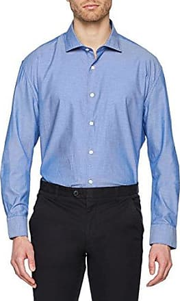 Camisa Lisa Estructura, Chemise Casual Homme, Blanc (Blanco 99), MediumCortefiel