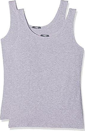 Cotonella C 3503 0000 K2, Camiseta de Manga Larga para Mujer, Azul (BLU 00014), 36(Pack de 2)