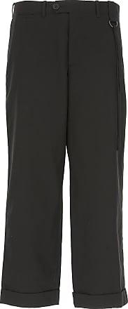 Pants for Men On Sale, Black, Cotton, 2017, M S Craig Green
