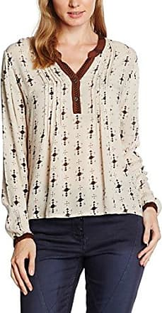 Sheego 300366, Blusa para Mujer, Beige (Softtaupe Softtaupe), 44