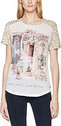 Cream Rosemary T-Shirt, Camiseta para Mujer, Rosa (Pink Tint 60346), S