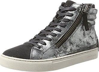 Damen 25041A17B Hohe Sneaker, Schwarz (Schwarz), 36 EU Crime London