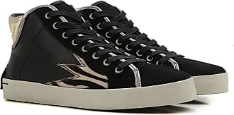 Sneakers for Women On Sale, Black, Leather, 2017, 3.5 5.5 Crime London