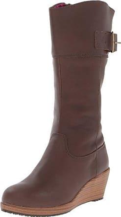 Crocs Winter Puff Boot Women, Femme Bottes, Marron (Espresso/Espresso), 38-39 EU