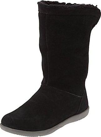Crocband II.5 Lace Boot, Mujer Bota, Negro (Black/Charcoal), 37-38 EU Crocs