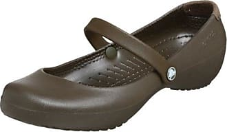 crocs Alice 10056-200-045, Damen Mary Janes, schokolade, 40.5 EU/7 UK