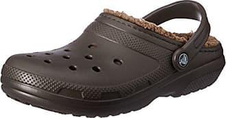 Crocs Classic Slipper, Zapatillas de Estar por Casa Unisex Adulto, Marrón (Espresso/Walnut), 45/46 EU