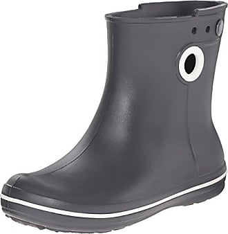 crocs Jaunt Shorty, Damen Kurzschaft Gummistiefel, Türkis (Pool), 34 EU