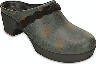 Crocs Damenschuhe - Sarah Leather Clog - Camel, Schuhgröße:eur 42-43