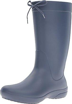 Crocs Wellie Rain Boot Men, Hombre Bota, Negro (Black), 39-40 EU