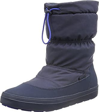 LodgePoint Shiny Pull-on Boot, Mujer Bota, Azul (Blue Jean/Navy), 41-42 EU Crocs