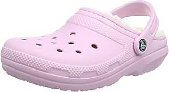 crocs Winter Clog, Unisex - Erwachsene Clogs, Pink (Carnation/Oatmeal), 39/40 EU