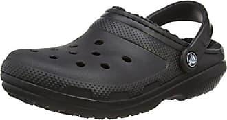 Classic Turbo Strap Clog, Unisex-Erwachsene Clogs, Schwarz (Black), EU 46-47 (UK11) Crocs