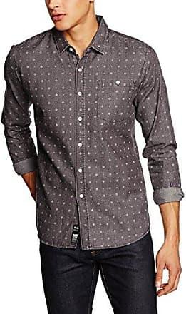 Samsoe and Samsoe Mens Liam Checkered Button Front Long Sleeve Casual Shirt Samsøe & Samsøe Cheap Sale Huge Surprise 8Xv7edNG