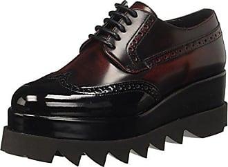 Culte Alice, Chaussures Richelieu Des Femmes De Laceup, Noir, 35 Eu