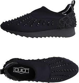 CLE102524 - Low-Top Chaussures, Noir (Noir/Silver), Taille 38Cult