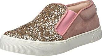 CUPLE 103067 Nuevo, Zapatillas para Mujer, Plateado (Antracita), 39 EU