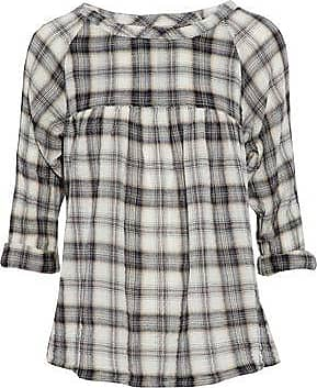 Online Shopping Clearance Clearance Store Current/elliott Woman Checked Cotton-blend Flannel Shirt Ecru Size 3 Current Elliott Nicekicks With Credit Card Cheap Online gwztIH