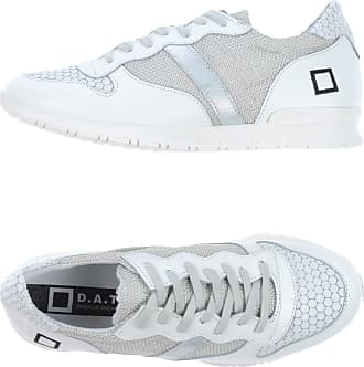 Sneakers for Women On Sale, White, Leather, 2017, US 8.5 - UK 7 - EU 40 - J 255 - CHN 250 D.A.T.E.