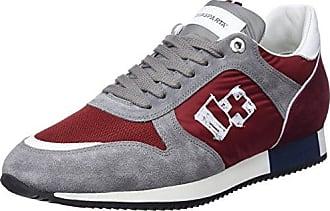 Lorenzo, Sneakers Basses Homme - Noir - Noir, 43 EU EUD'acquasparta