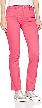 Chino Satin de Coton, Pantalon Femme, Beige (Sable 02090), W26/L32 (Taille Fabricant:36)Damart