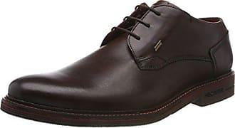 811365011100, Zapatos de Cordones Derby para Hombre, Marrón (Dark Brown 6100), 43 EU Daniel Hechter