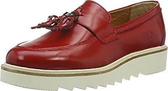 Meran 170027-111, Mocassins femme - Rouge-TR-SW16, 40 EUHans Herrmann Collection