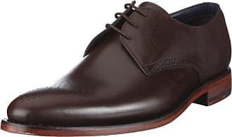 Daniel Hechter 812244051100, Zapatos de Cordones Brogue para Hombre, Marrón (Cognac), 46 EU