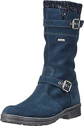 Hilfiger Denim H1385azel 2b, Bottes Femme, Bleu (Midnight), 42 EUTommy Jeans