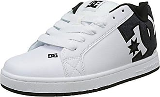 DC Shoes Court Graffik, Zapatillas para Hombre, Blanco (White/White/Gum), 42 EU (8 UK)