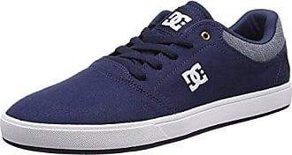 DC ADYS300126, Herren Sneakers, Grau - Grey/Dark Navy - Größe: 36 EU