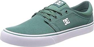DC Shoestrase TX - Zapatillas de Skateboarding Hombre, Noir (3Bk), 44
