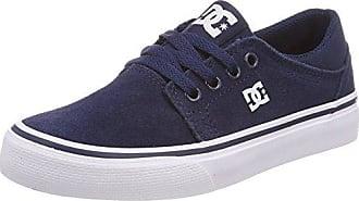 DC Shoes Trase B, Zapatillas para Niños, Azul (Navy NVY), 37 EU