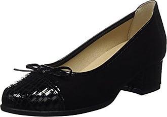 Dchicas 2708, Ballerines Bout Fermé Femme, (Black 01), 39 EU