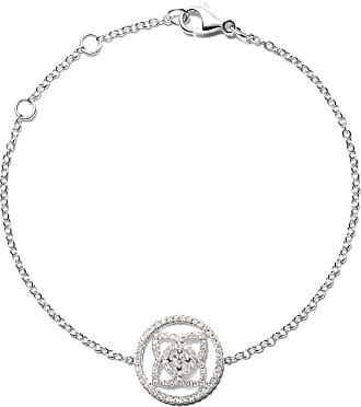 De Beers 18kt white gold Enchanted Lotus Openwork Medal diamond necklace - Unavailable AoflBSr6Wd