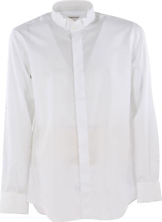 Camisa de Hombre Baratos en Rebajas, Violeta Oscuro, Algodon, 2017, 41 42 43 Del Siena