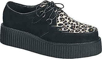 Demonia Creeper-602 - Gothic Punk Industrial Creeper Schuhe 36-46, US-Herren:EU-37 (US-M5)