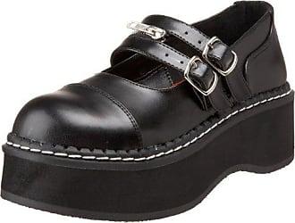 Daisy-03 - Gothic Punk Industrial Ballerinas Schuhe 36-43, Größe:EU-41/42 / US-11 / UK-8 Demonia