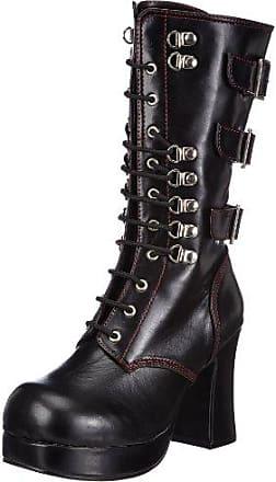 Demonia Mega-618 - Gothic Plateau Stiefel Schuhe 36-45, US-Herren:EU-38 (US-M6)
