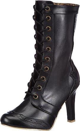 Demonia RANGER-301 Damen Stiefel, Schwarz (Blk Vegan Leather), EU 39 (UK 6) (US 9)