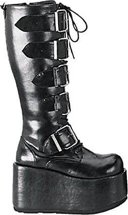 Demonia Stack-301G - Gothic Glamour Drag Queen Mega Plateau Stiefel Schuhe 36-46, US-Herren:EU-41/42 (US-M9)