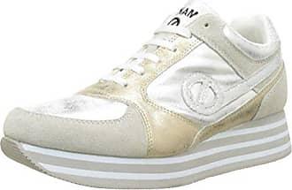 No NamePicadilly Soft Flex/Glass - Botas de Caño bajo Mujer, Blanco (Blanco (White/Pink)), 38